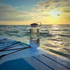 IMG20200623184246-01.jpeg Download free STL file Nalgene water bottle holder for stand up paddle board • 3D printer model, KaziToad