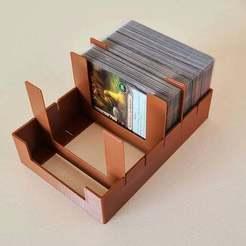 20200923_134906.jpg Download free STL file Cary Storage Tray - MTG LCG Pokemon • 3D printing template, ismaan