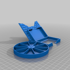 Download free 3D printer files Gloomhaven Monster Stats and Health Holder - wheel, ismaan