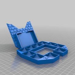 Download free 3D print files Gloomhaven Monster Stats and Damage Holder - ring, ismaan