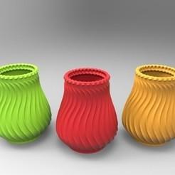 Télécharger fichier impression 3D Vase décoratif, SkyNet33