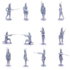 Brit_Gren_Box.jpg Download STL file British Grenadiers Box – Seven Years War – French Indian Wars • 3D print design, Lukas_Fischer