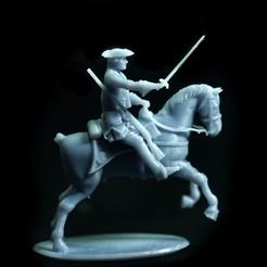 Download free 3D printer files Free British Dragoon – Seven Years War – French Indian Wars, Lukas_Fischer