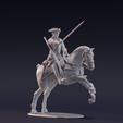 Télécharger plan imprimante 3D gatuit Free British Dragoon - Guerre de Sept Ans - Guerres indiennes françaises, Lukas_Fischer