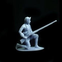 Download free 3D printer designs Free British Ranger – Seven Years War – French Indian Wars, Lukas_Fischer