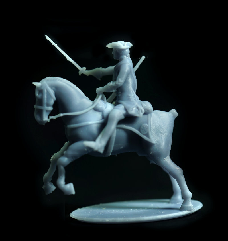 Brit_Dragoons_AttackJump_Cleft.jpg Download free STL file Free British Dragoon – Seven Years War – French Indian Wars • 3D print model, Lukas_Fischer