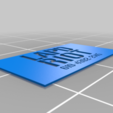 Download free STL file NCR Ranger Stencils • 3D print object, aandw92
