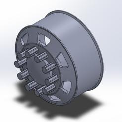 Download 3D printer designs Alcoa Rims 1:34 scale, leoriv9506