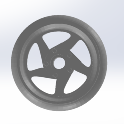 2.png Télécharger fichier STL Jante des roues chaudes à l'échelle 1:64 • Objet pour imprimante 3D, leoriv9506