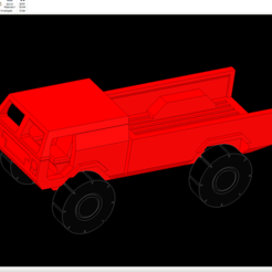 Download free STL file 1/87 Cab Forward Pickup • 3D print template, NJD13