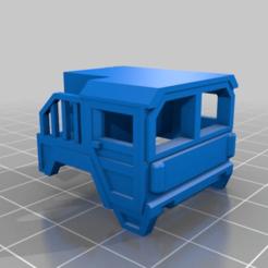 Télécharger fichier imprimante 3D gratuit 1/87 Cabine de camion, NJD13