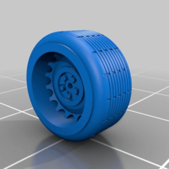 Download free 3D printing designs Random Wheels - 1:64 Scale, NJD13