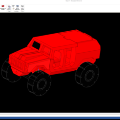 Download free STL file 1/87 All Terrain Personnel Carrier • 3D printable model, NJD13