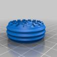Download free 3D printing templates Interlocked Keychain, NJD13