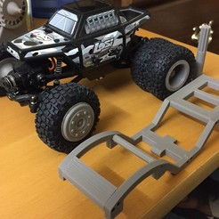 Download free 3D printer designs Losi Micro Crawler / Redcat Sumo Chassis, NJD13