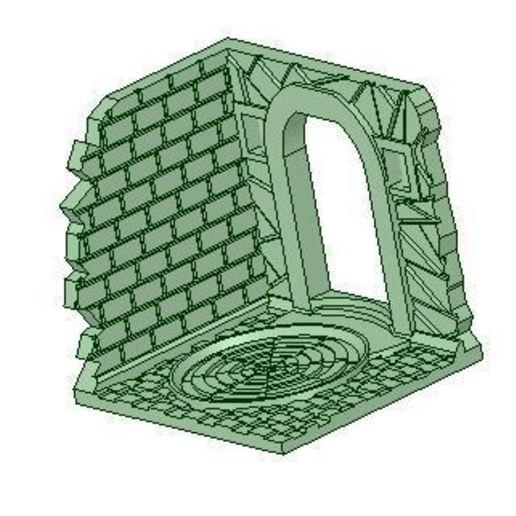 Download free 3D printer templates The Other Door, NJD13