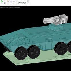 15mmScale2.JPG Télécharger fichier STL gratuit 1/100 APC V2 • Objet pour imprimante 3D, NJD13
