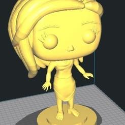 foto 01.jpg Download STL file Funko Pocahontas • 3D printing design, cara3d