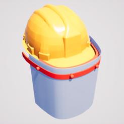 Image 03.png Download STL file Helmet Protector • 3D printer model, cara3d