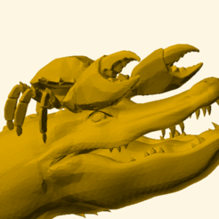 Download free 3D printer templates Florida Reindeer, trg3dp