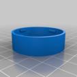 Télécharger plan imprimante 3D gatuit Casquette de growler personnalisable, trg3dp