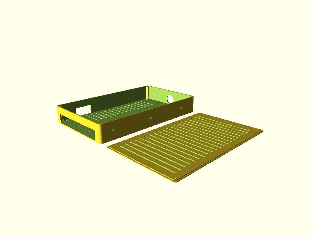 70263084d296773b8210c84131f970c5.png Download free SCAD file Melzi 2040 Electronics Case • Template to 3D print, trg3dp