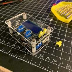 drok.jpg Télécharger fichier STL gratuit Boutons pour le convertisseur DROK Buck • Modèle imprimable en 3D, trg3dp