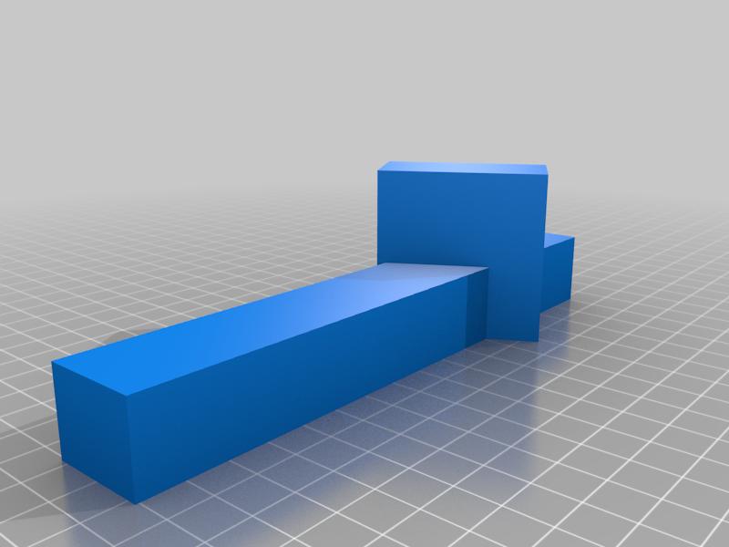 foot_left.png Télécharger fichier SCAD gratuit Support pour ordinateur portable • Plan pour imprimante 3D, trg3dp