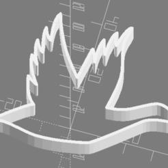 Télécharger fichier imprimante 3D gratuit Découpeur de biscuits au canard, trg3dp