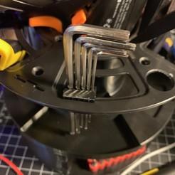 Télécharger modèle 3D gratuit Clip de la clé hexagonale CR10, troseph