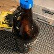 Download free 3D print files Customizable Growler Cap, trg3dp