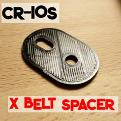 Télécharger fichier imprimante 3D gratuit CR-10s X Entretoise de tension, trg3dp
