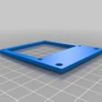 Télécharger plan imprimante 3D gatuit Monture minimale de framboise pi 2020, trg3dp