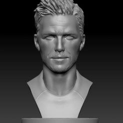 Download free OBJ file David Beckham • 3D printable model, vaibhav210singh