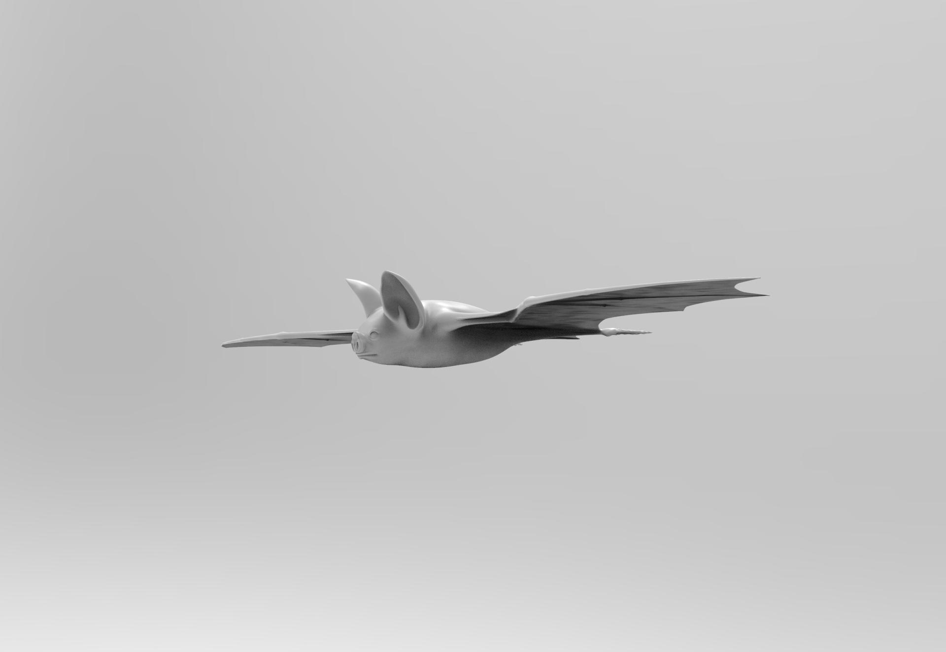 untitled.117.jpg Télécharger fichier OBJ gratuit Bat • Design à imprimer en 3D, vaibhav210singh