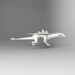 Download free OBJ file ice dragon • 3D printing template, vaibhav210singh