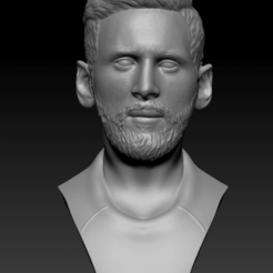 messi.png Download free STL file Messi • 3D printable template, vaibhav210singh