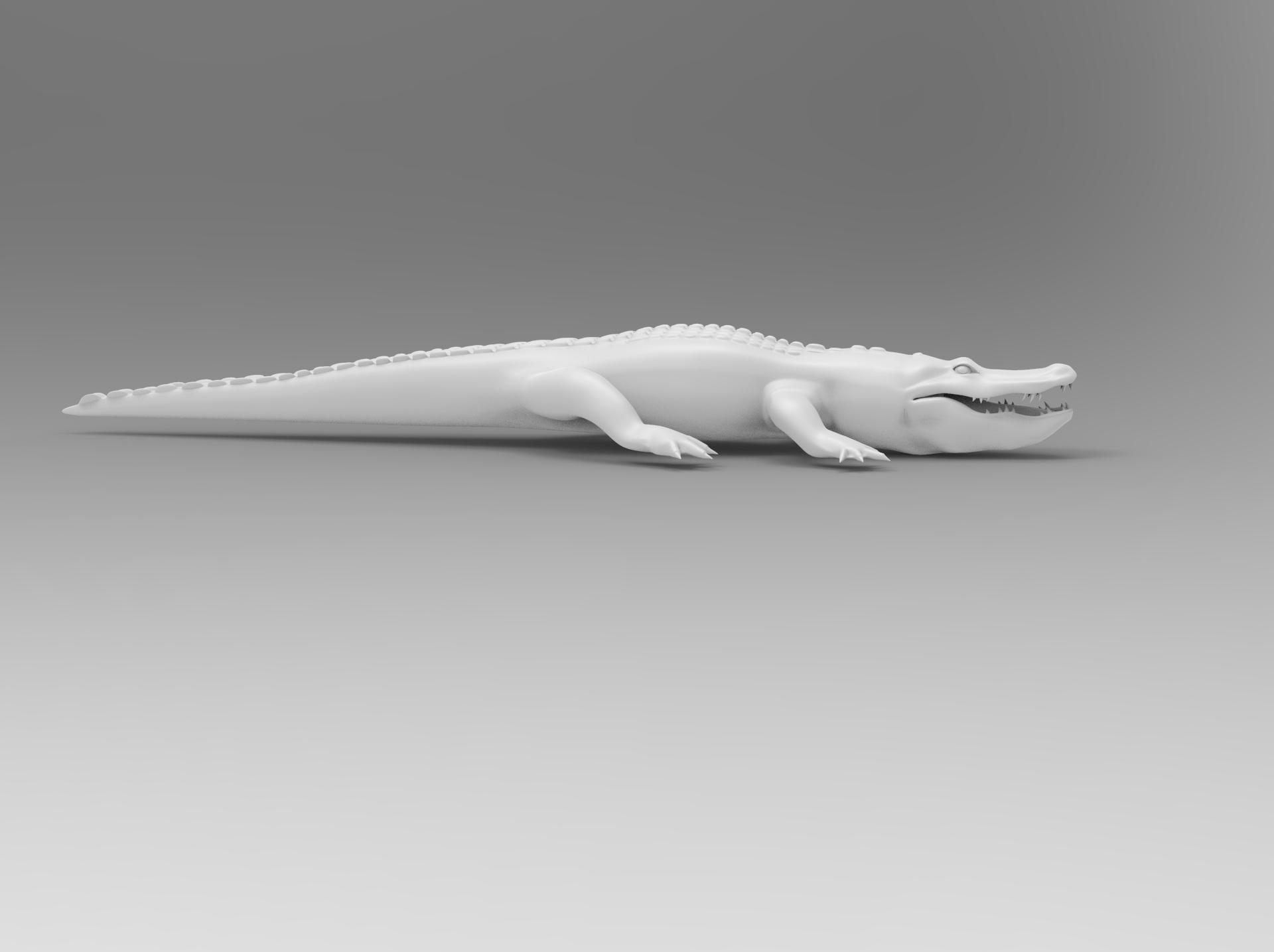 untitled.87.jpg Télécharger fichier OBJ gratuit alligator • Objet à imprimer en 3D, vaibhav210singh
