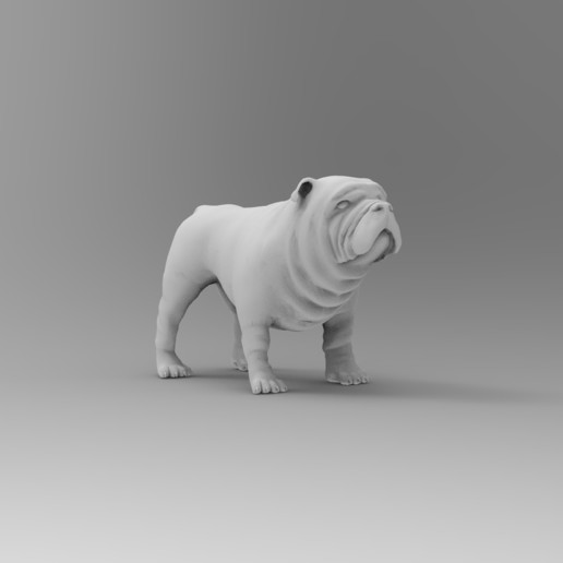 Download 3D printer designs bull dog, vaibhav210singh