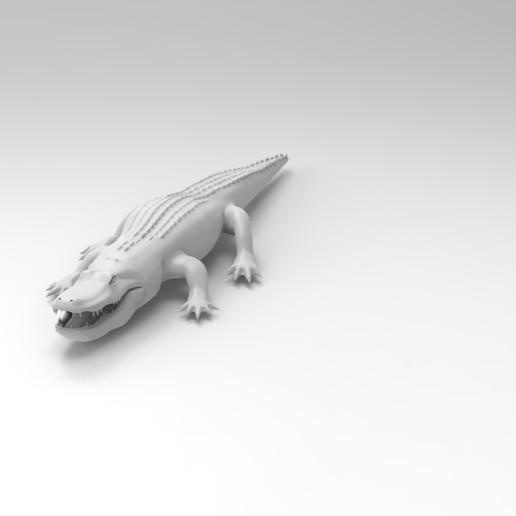 untitled.89.jpg Télécharger fichier OBJ gratuit alligator • Objet à imprimer en 3D, vaibhav210singh