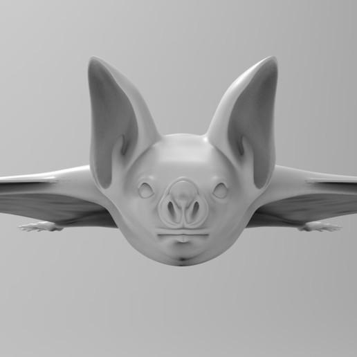untitled.120.jpg Télécharger fichier OBJ gratuit Bat • Design à imprimer en 3D, vaibhav210singh