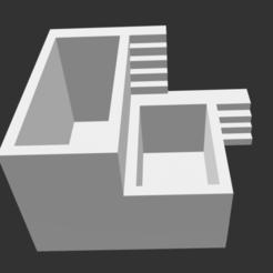 Télécharger plan imprimante 3D Pot de fleurs avec supports, mimaemilia