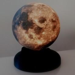 "IMG_20190406_171226.jpg Download STL file Moon base 4"" (G9 LED) • 3D printer object, Matteeee"