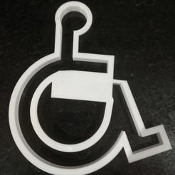 79504199_10156466608657027_7643949984718520320_o.jpg Download free STL file Wheelchair cookie cutter • 3D printer model, Matteeee