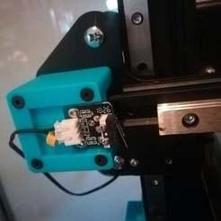 Télécharger fichier STL gratuit Ender 3 Rail linéaire X-endstop bracket • Design à imprimer en 3D, Matteeee