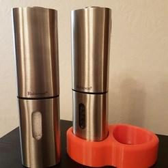 81491678_2641081772636264_468014116569612288_n.jpg Download free STL file Stand for Rubicson Salt & Pepper grinders • 3D printer design, Matteeee
