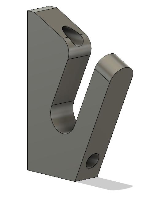 Untitle123d.png Télécharger fichier STL gratuit Cintre à long terme V2 • Objet pour imprimante 3D, RollinBart