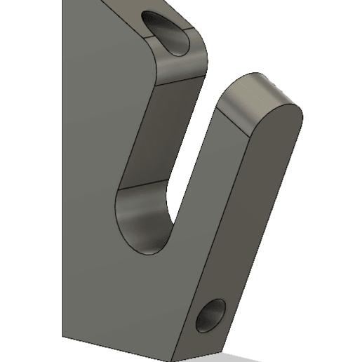 Impresiones 3D gratis Longboard Hanger V2, RollinBart