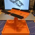 Télécharger fichier STL gratuit Support de voiture RC ajustable avec station de chocs • Objet imprimable en 3D, razvanbrates