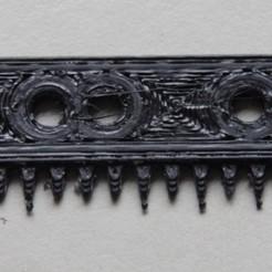 Télécharger fichier STL peigne fort • Modèle à imprimer en 3D, elvinhaak